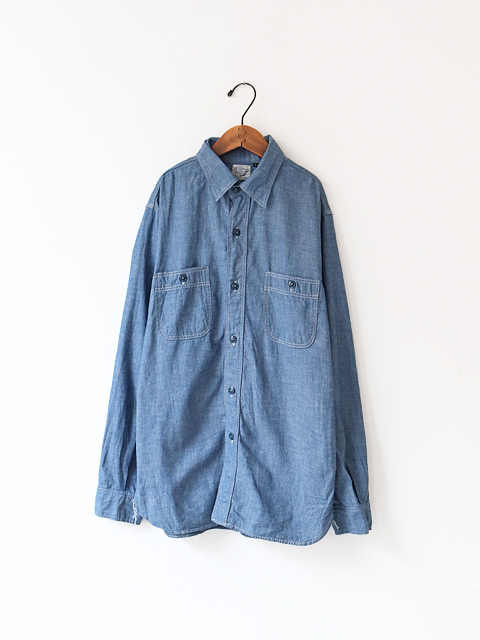 orSlow(オアスロウ) Work Shirt - Chambray