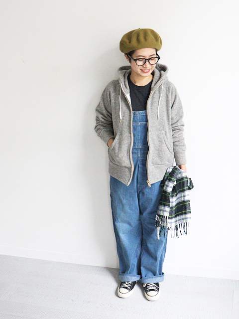 orslow(オアスロウ) Women's Fit 50's Over All -2Year Wash