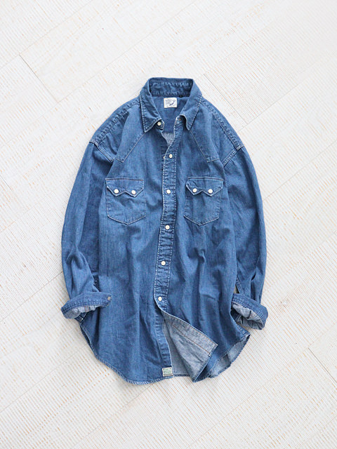 orSlow(オアスロウ) VINTAGE FIT WESTERN SHIRT LOOSE FIT