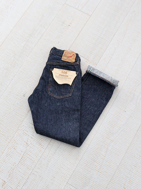 orslow(オアスロウ) 105 STANDARD SELVEDGE DENIM -ONE WASH