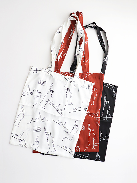 PHEENY(フィーニー)  NYC printed A3 tote bag