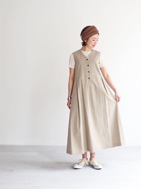 Phlannel(フランネル) French Twill A-line Dress