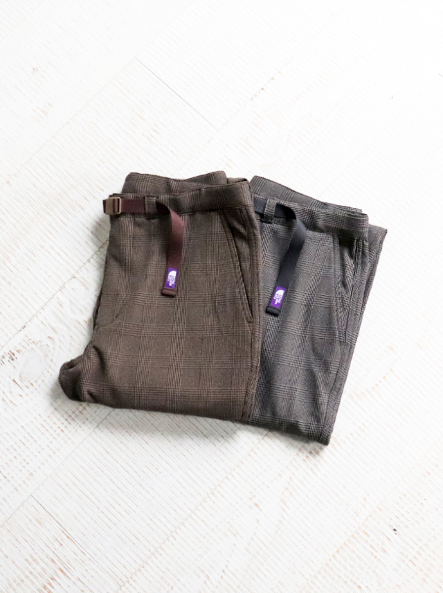 THE NORTH FACE PURPLE LABEL(ザ ノース フェイス パープルレーベル)Polyester Check Field Pants