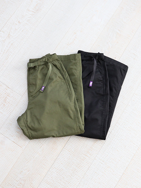 THE NORTH FACE PURPLE LABEL (ザ ノースフェィス パープルレーベル) Stretch Twill Wide Tapered Pants