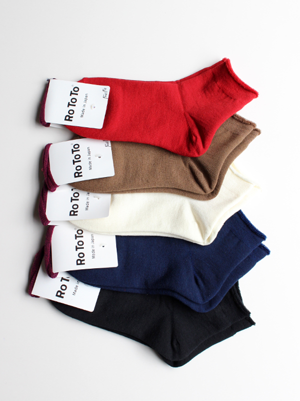 RoToTo(ロトト) CITY SHORT SOCKS