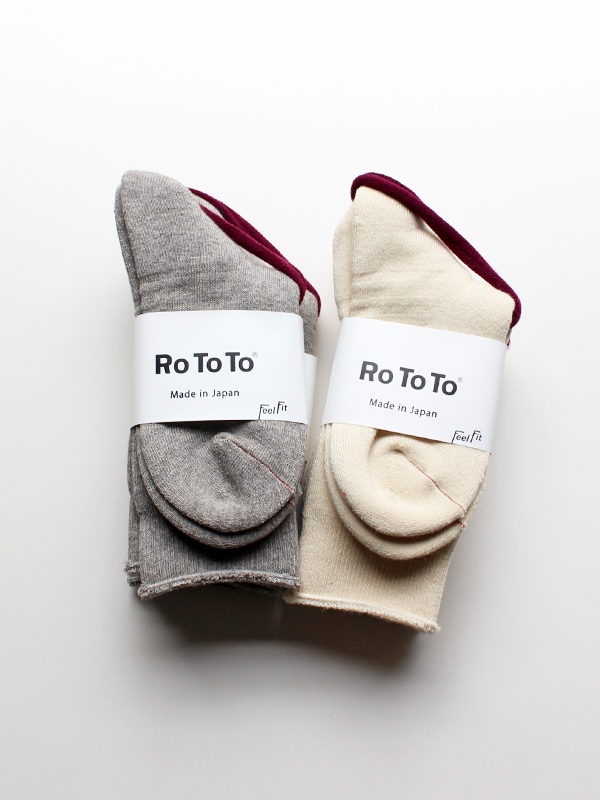 RoToTo(ロトト) EARTH SOCKS ALL PILE