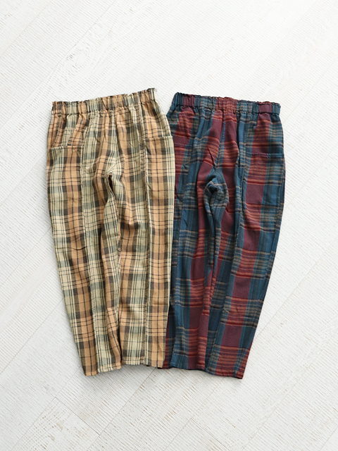 SOUTH2 WEST8(サウスツーウェストエイト)  Army String Pant - Plaid Twill