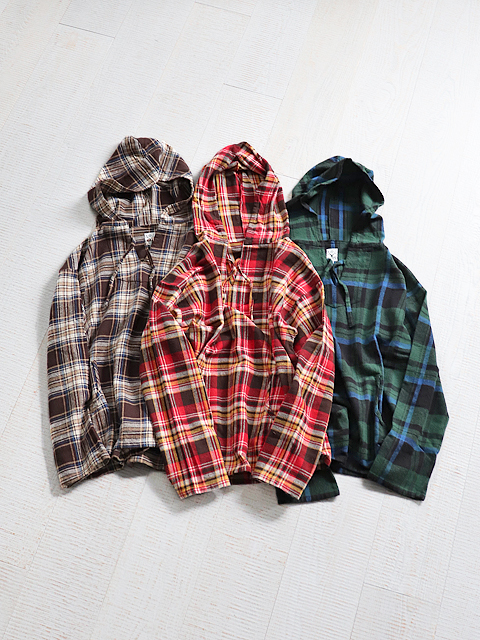 SOUTH2 WEST8(サウスツーウェストエイト) Mexican Parka -Cotton Twill Plaid