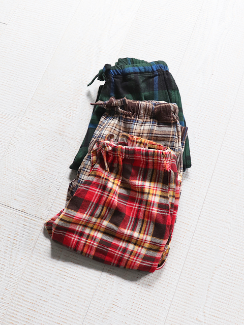 SOUTH2 WEST8(サウスツーウェストエイト) String Slack Pant -Cotton Twill Plaid