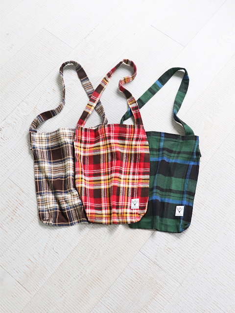 SOUTH2 WEST8(サウスツーウェストエイト) Book Bag -Cotton Twill Plaid