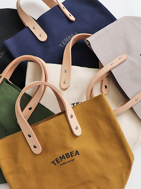 TEMBEA(テンベア) DELIVERY TOTE LOGO -SMALL