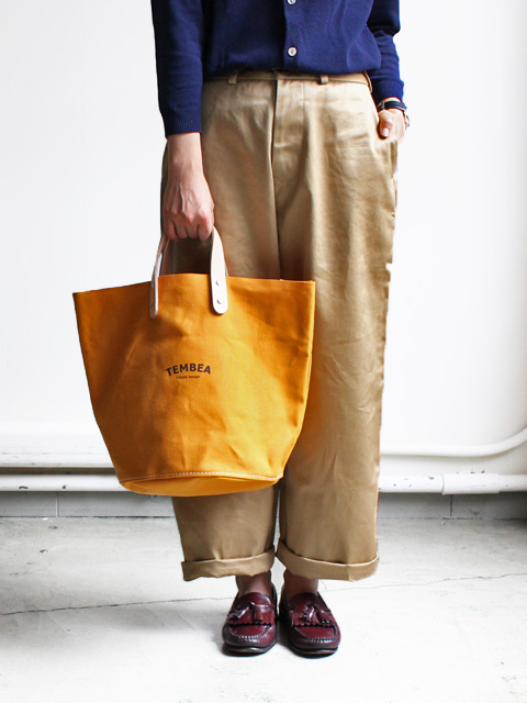 TEMBEA(テンベア) DELIVERY TOTE LOGO MEDIUM