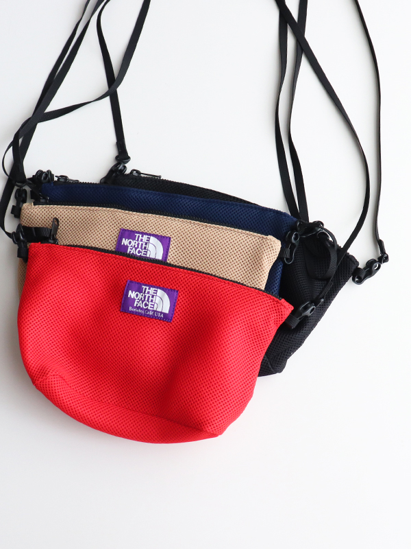 THE NORTH FACE PURPLE LABEL(ザ ノース フェイス パープルレーベル) Mesh Pouch  -Medium