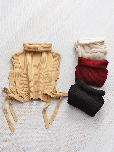 unfil (アンフィル) bluefaced leicester neck warmer