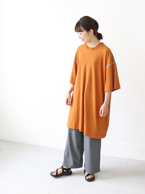 unfil (アンフィル) recycle cotton jersey 5XL sized Tee