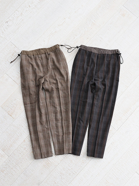 WELLDER(ウェルダー) Drawstring Trousers