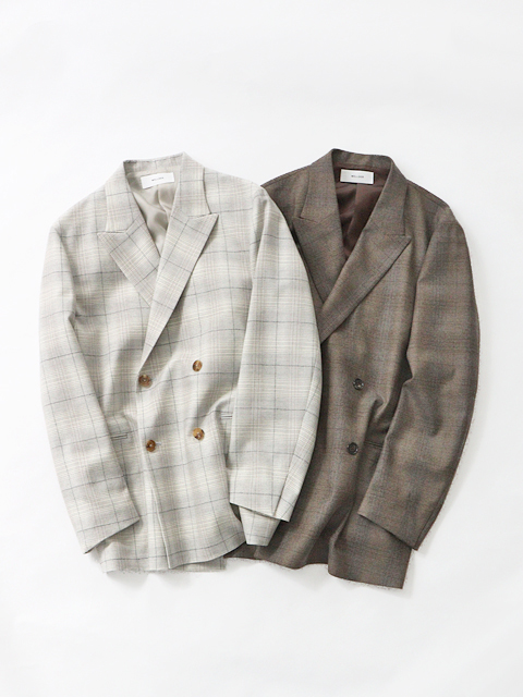WELLDER(ウェルダー) Double Breasted Boxy Jacket