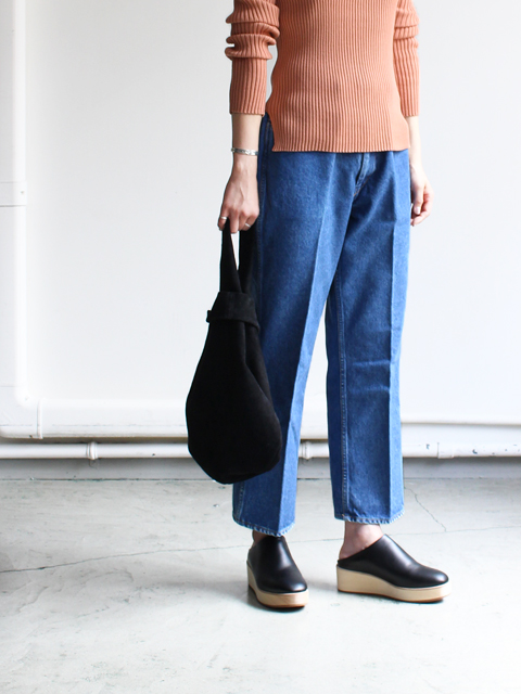 WESTOVERALLS(ウエストオーバーオールズ) 5POCKET DENIM TROUSERS. 817F-BIOBLUE