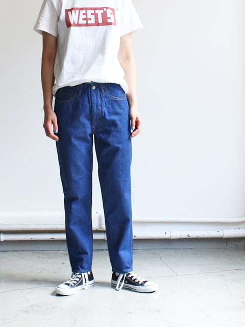 WESTOVERALLS(ウエストオーバーオールズ) 5POCKET DENIM TROUSERS. 806T-ONEWASH