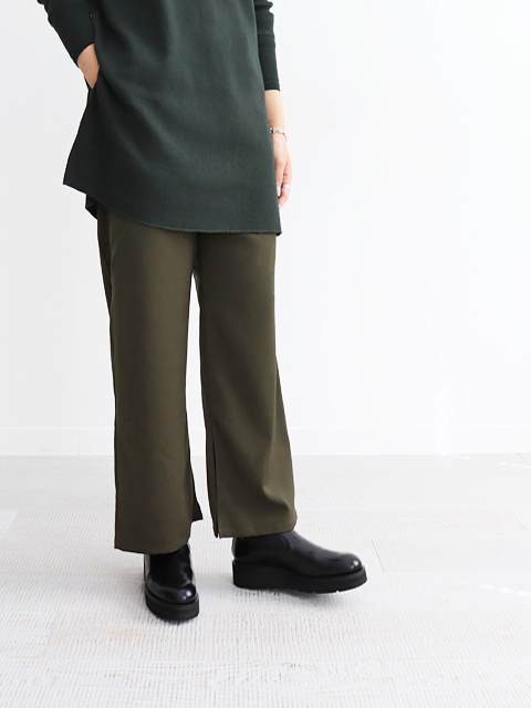 White Mountaineering(ホワイトマウンテニアリング) SIDE SLITTED WIDE PANTS