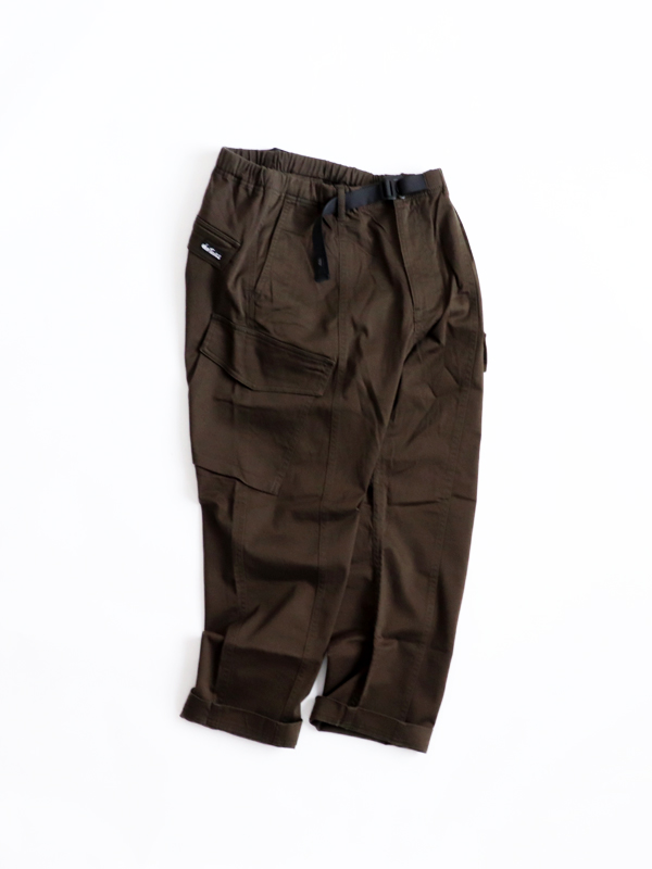 WILD THINGS(ワイルドシングス) SATIN STRETCH CARGO PANTS