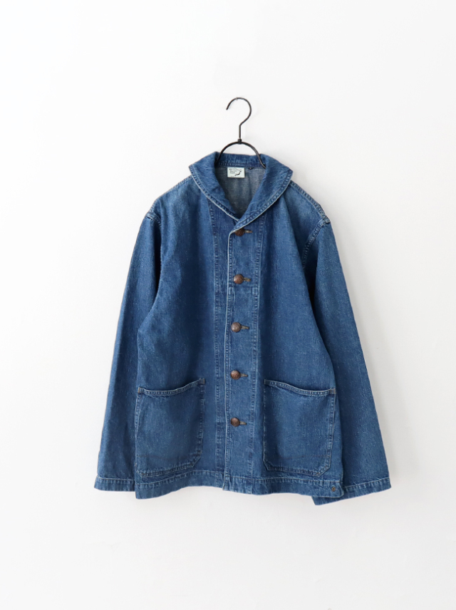 orSlow(オアスロウ) US Navy Shawl Collar Jacket -USED