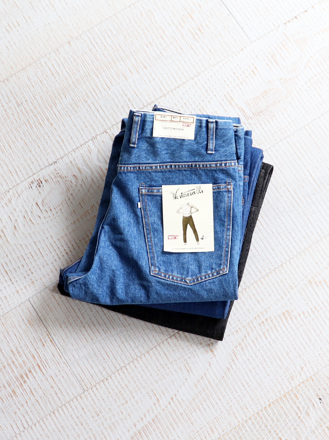 WESTOVERALLS(ウエストオーバーオールズ) 5POCKET DENIM TROUSERS. 806T-BIOBLUE