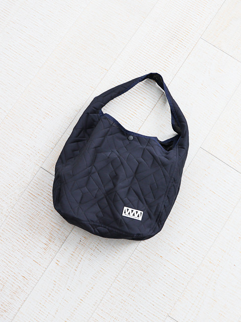 White Mountaineering (ホワイトマウンテニアリング) PARQUEST JACQUARD TOTE BAG