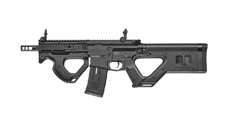 ICS×ASG HERA ARMS CQR AEG Black (Ver.2 SSS/EBB/JP Ver.)