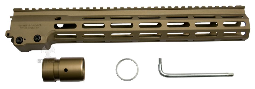 ANGRY GUN マルイAEG/KSC/VFC M4シリーズ対応 Geissele SMR MK16 M-LOK 13.5inch レイルハンドガード-DDC