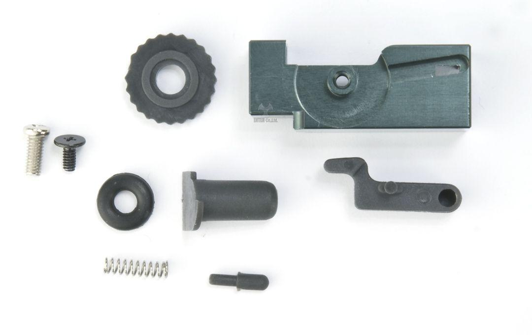 ANGRY GUN マルイM4 MWS GBB シリーズ用 強化ホップアップアジャスターセット