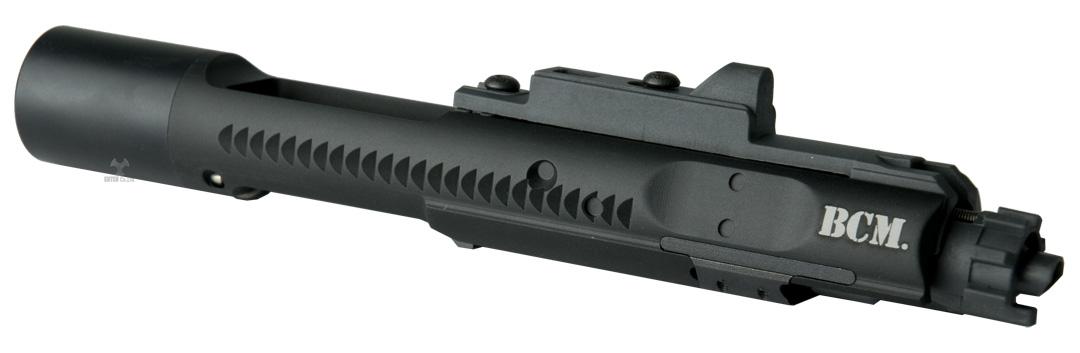 ANGRY GUN マルイM4MWS用 ドロップイン ハイスピードアルミボルトキャリアセット-BCMタイプ/BK