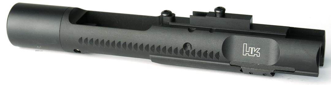 ANGRY GUN マルイM4MWS用 ハイスピード アルミボルトキャリア-HK416タイプ/BK