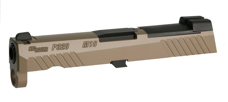 Bomber Airsoft  M320-M18 カスタムスライド SIG AIRSOFT(VFC) P320 M18 GBB対応 Elite Coyote