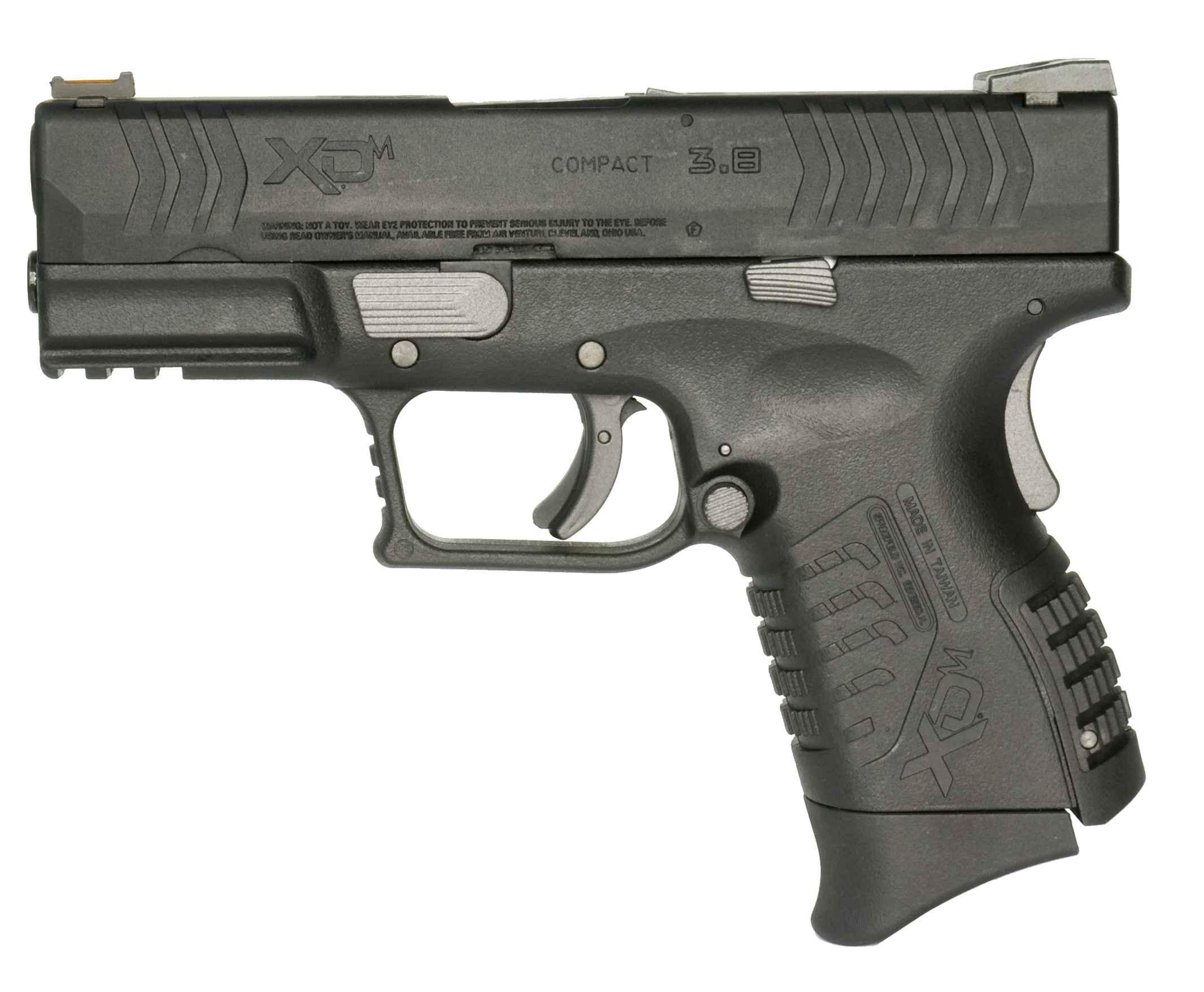 WE(Air Venturi) XDM Compact 3.8インチ GBB BK (SFA正規ライセンス品)