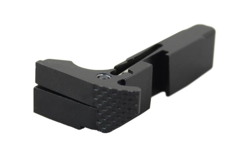 Airsoft Artisan Rainier Arms MARSスタイル アンビマガジンキャッチ (東京マルイ/WE/VFCグロックシリーズ対応) (BK/SV/GD/RED)