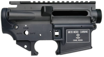WII TECH 東京マルイ M4 MWS対応アッパー&ロアレシーバーセット MK18 MOD0 後期型タイプ