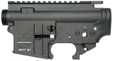 WII TECH 東京マルイ M4 MWS対応アッパー&ロアレシーバーセット MK18 MOD1タイプ