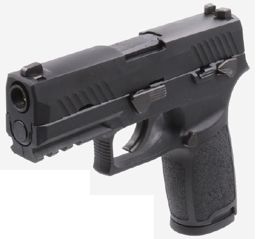 AEG(ASIA Electric Guns) SIG P320 Carry ガスブローバック BK