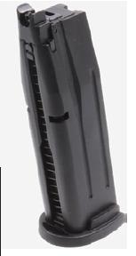 AEG(ASIA Electric Guns) SIG P320 Carry用 20連スペアマガジン BK