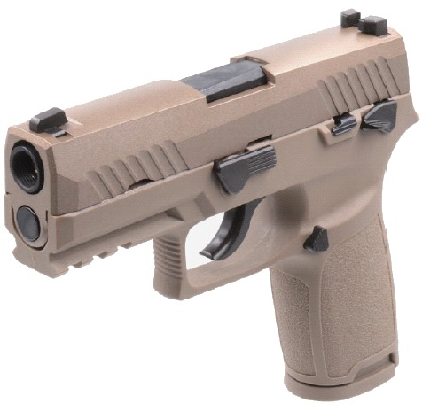 AEG(ASIA Electric Guns) SIG P320 Carry ガスブローバック TAN