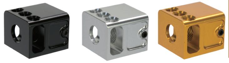 A+ AirSoft  TBRCiタイプ Glockマイクロコンペ 14mm逆ネジ仕様 Glock サイレンサー/アウターバレル対応