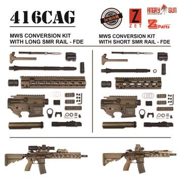 Angry Gun 東京マルイM4MWS用 HK416D コンバージョンキット FDE GBB