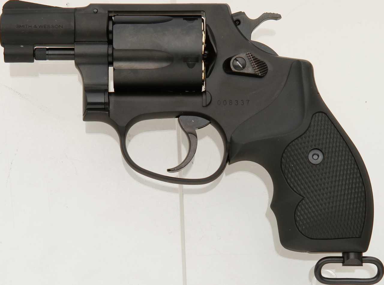 タナカ S&W M37 J-polive 2inch HW モデルガン