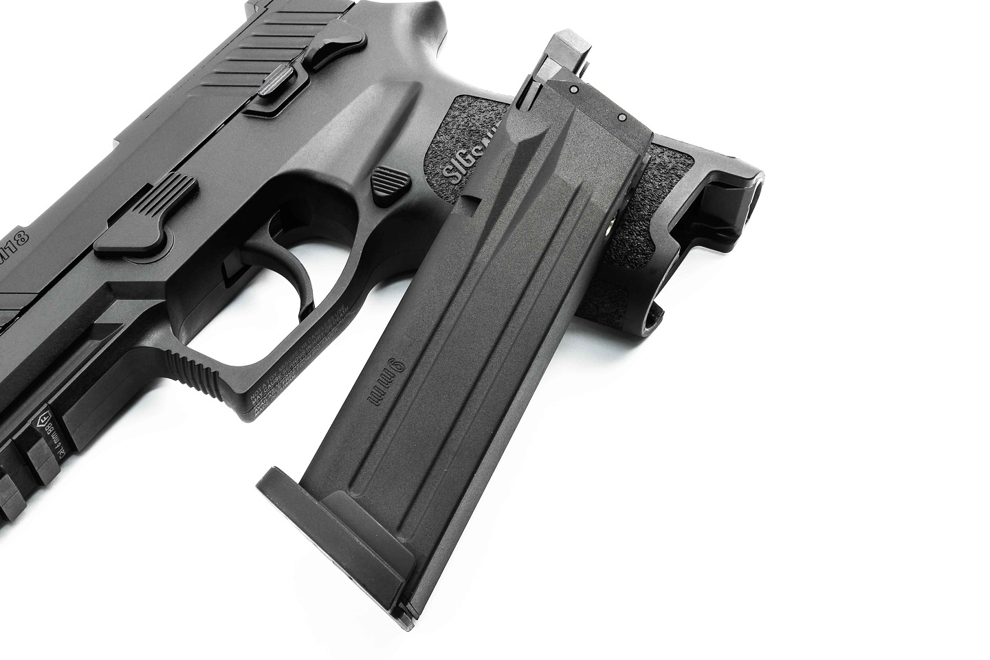 SIG Airsoft P320-M18 ガスブローバックピストル (Official Licensed)  BK