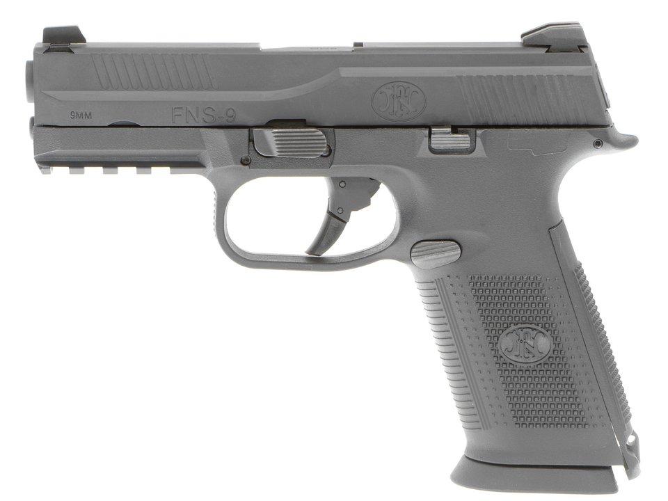 CyberGun FN FNS-9 ガスブローバックピストル CerakoteLimited BK
