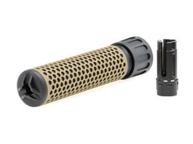 CloneTech Knight's型 QDCサップレッサー/170mm 14mm逆ネジフラッシュハイダー付Blank
