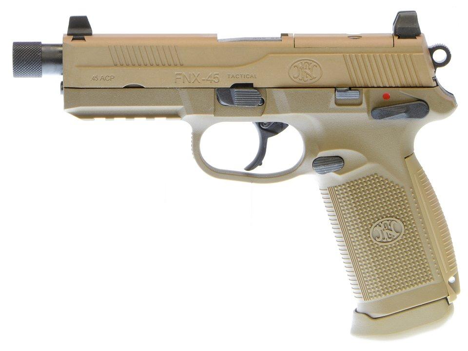 CyberGun FNX-45 Tactical ガスブローバックピストル (DE) (ガスガン)