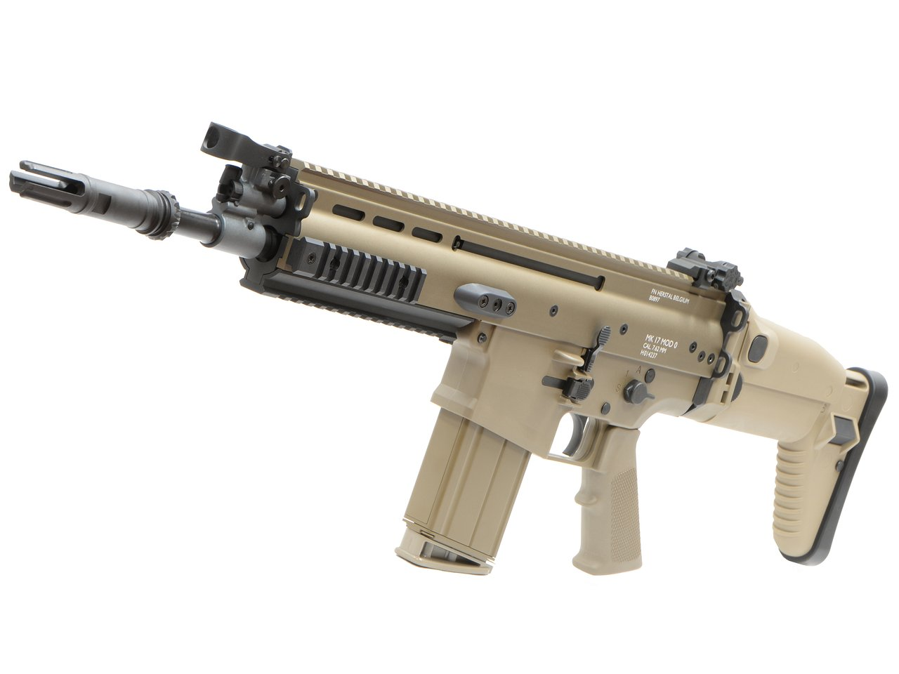 CyberGun FN SCAR-H GBBR (Mk17 JPversion) FDE