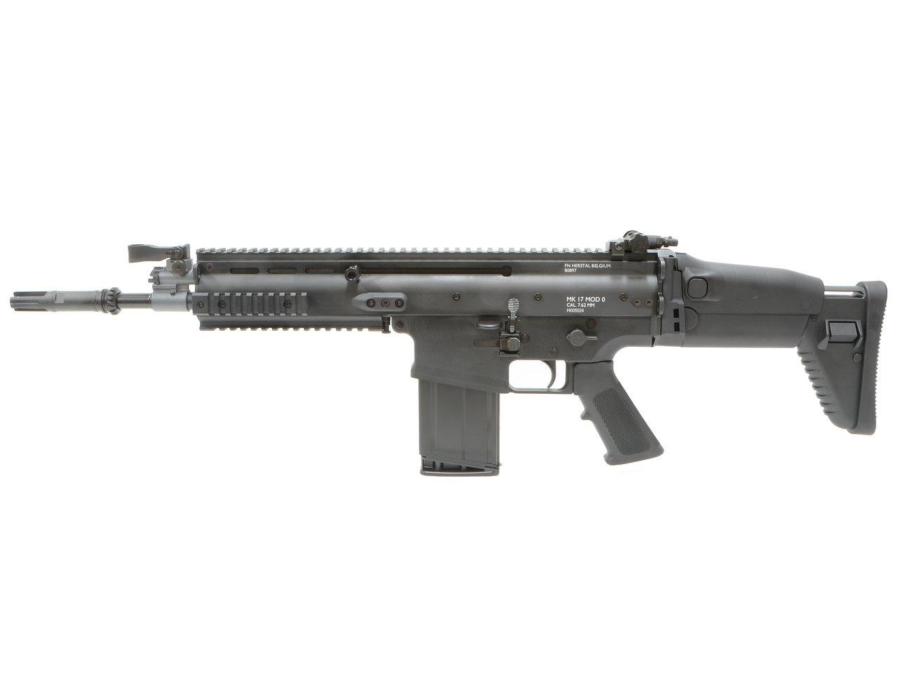 CyberGun FN SCAR-H GBBR (Mk17 JPversion) BK